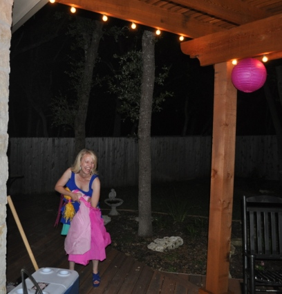 throwing candy