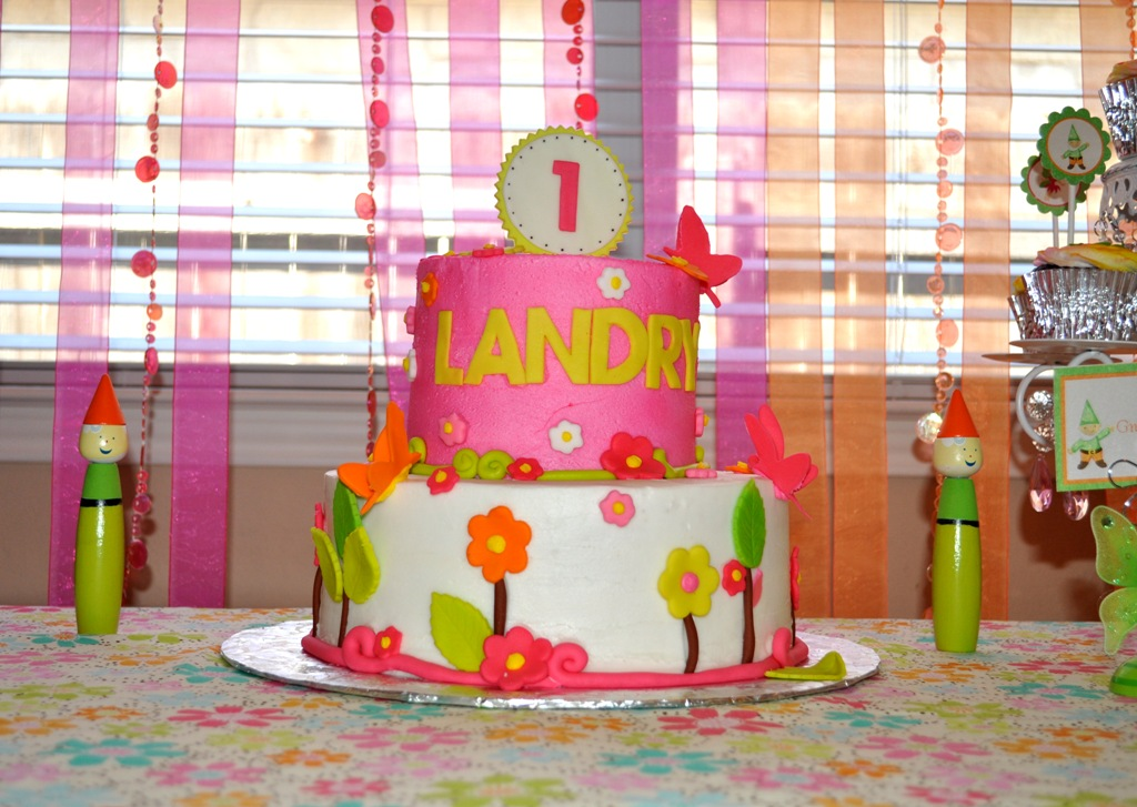 Landry S Enchanted Garden Birthday There S No I In Clare