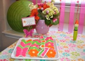 Beautiful sugar cookies compliments of Landry's Grandma.